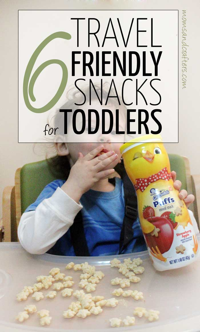 Toddlers make a mess! Here are 6 neat, travel friendly snacks for toddlers. Plus, learn how you can get a FREE GIFT from Gerber Graduates!