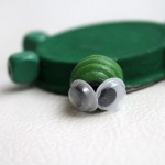 Upcycled Turtle Magnet Craft