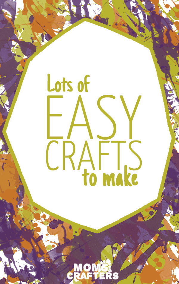 Check out this master list of fun crafts to make! They're inexpensive, doable, and all a blast to create!