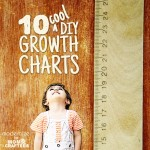 10 Clever DIY Growth Charts