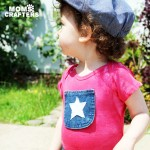 DIY Patriotic T-shirt for baby