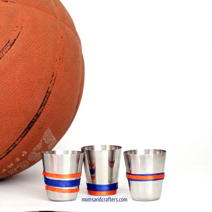 sports team shot glasses
