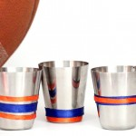 DIY Shot Glasses for Sports Fans