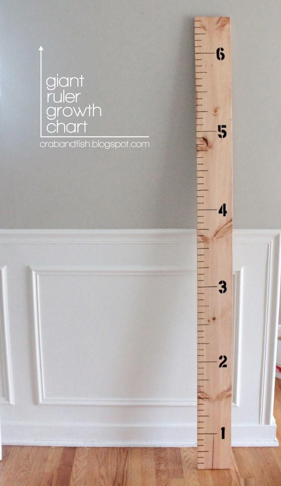 10 clever diy growth charts moms and crafters 10 clever diy growth charts nvjuhfo Gallery