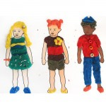 Free Printable Dress Up Dolls Play Dough Mats