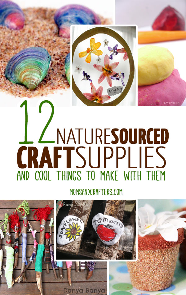 Crafting with nature is the best way to craft! These nature craft supplies are easy and cheap or free! Includes a zillion things to make with them....