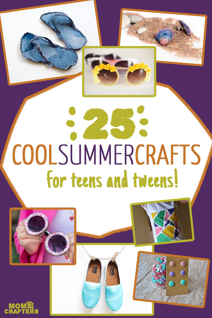 Cool summer crafts for teens moms and crafters for Crafts for tweens diy
