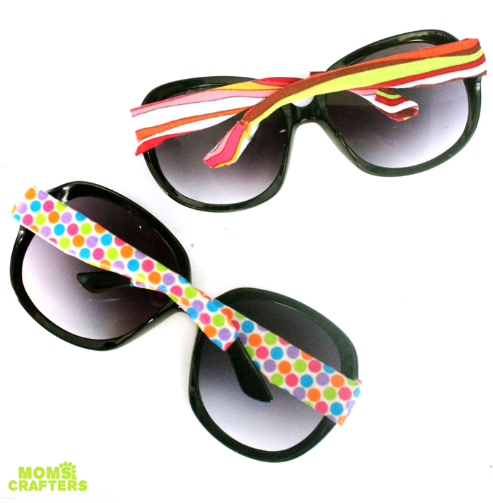 Decorate Sunglasses To Make A Cheap Chic Glam Pair This Five Minute Craft Is