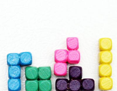 Tetris Craft: Make Tetris Pieces Magnets!