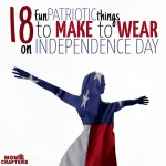 DIY Patriotic Clothes and Accessories