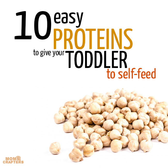 Easy proteins for toddlers to self-feed