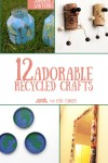 These are some of the cutest recycled crafts I've seen - check out this awesome, amazing list!
