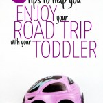 5 Tips for a road trip with a toddler