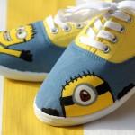 DIY Minion Shoes