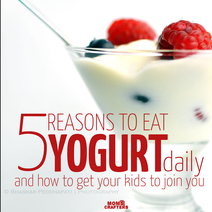 Yogurt is such an amazing healthy food for kids! Read about the many health benefits of yogurt, and how to get your children to eat it!