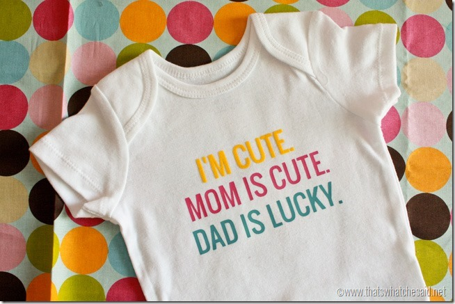 You are going to want to make every one of these adorable DIY no sew onesie
