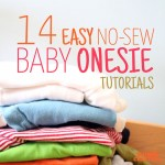14 No Sew Onesie Ideas