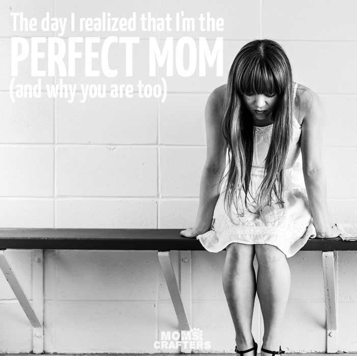 "If you're having a hard day you need to read this. It's one of the most encouraging parenting articles I've seen. ""The day I realized that I'm a perfect mom"""