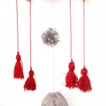 DIY Tassel & Pom Pom Baby Mobile + my nursery makeover