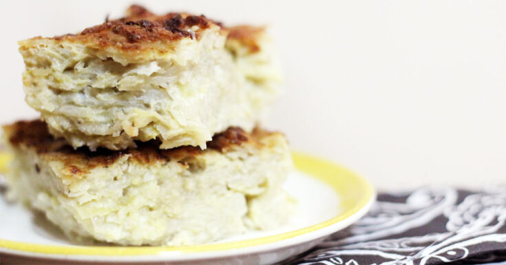 I'm warning you: this is the best potato kugel recipe ever! It's a delicious traditional Jewish side dish that sneaks in some veggies.