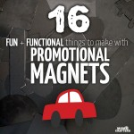 16 Things to make with promotional magnets