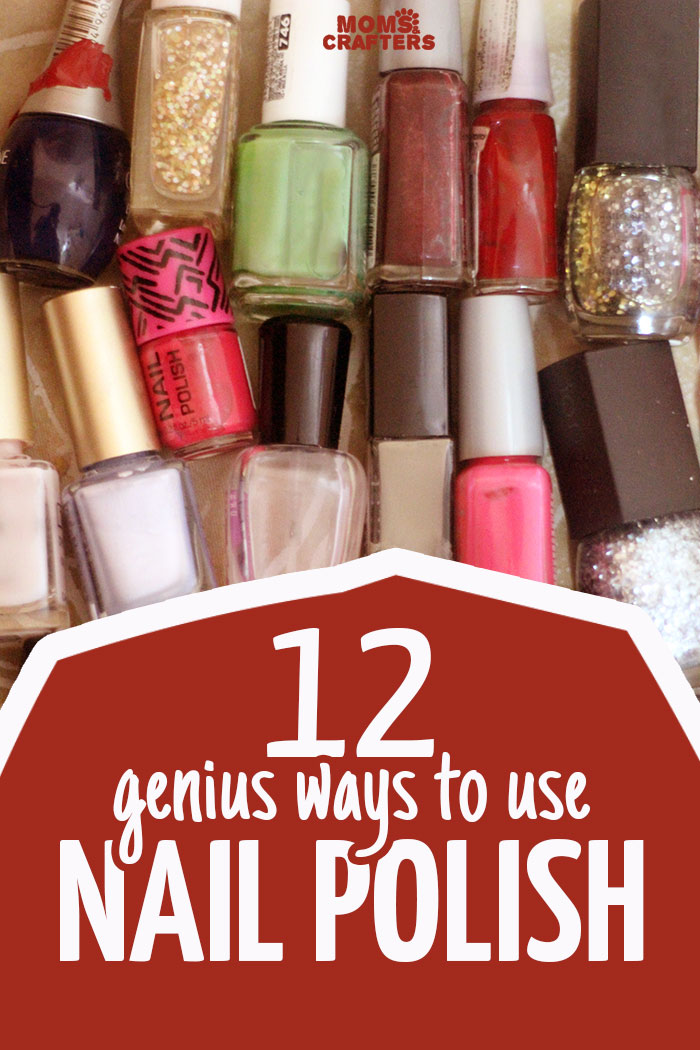 Looking for more uses for nail polish. Check out these 12 GENIUS NAIL POLISH HACKS! These life tips offer solutions to everyday problems!