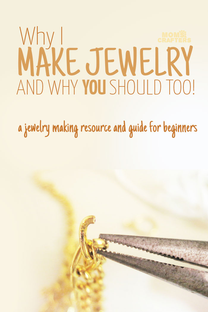 Check out this amazing jewelry making resource: Why I make jewelry and why you should to!