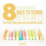 8 free Back to school resources