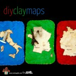 DIY CLAY MAPS