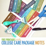Oh, my these are so Punny! Print these humorous, pun-intended college care package labels for Schick disposable razors and other college care package essentials ideas | Free printable