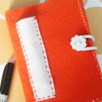 DIY FELT COVERED NOTEBOOK