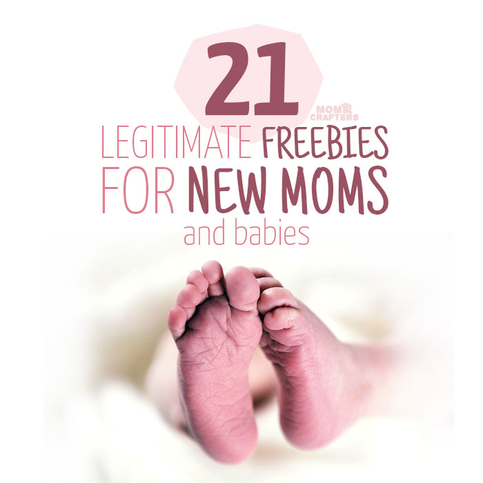 Babies are expensive! These legitimate freebies for moms and new babies will help you save money during your pregnancy or postpartum.