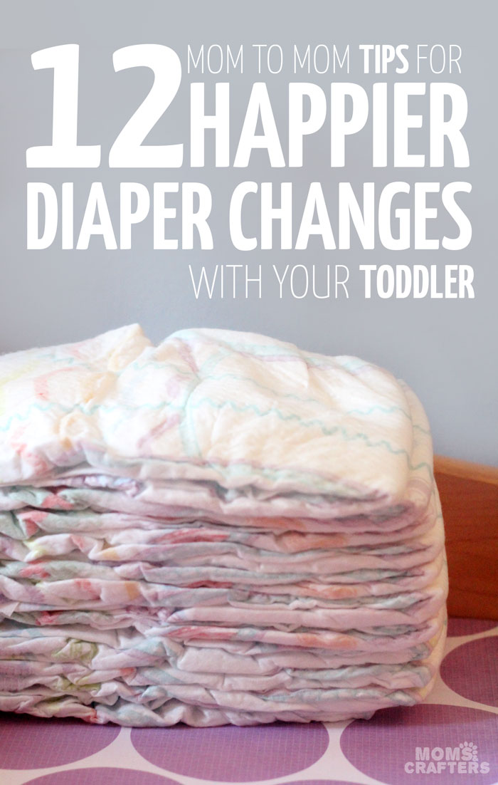 So clever! Got a fussy toddler every time you try to change that diaper? Read these mom to mom parenting tips on how to have happy toddler diaper changes!