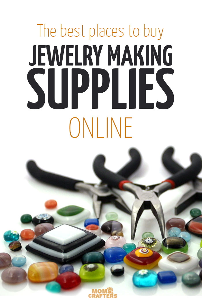 Places to buy beads online moms and crafters for Best jewelry making supplies