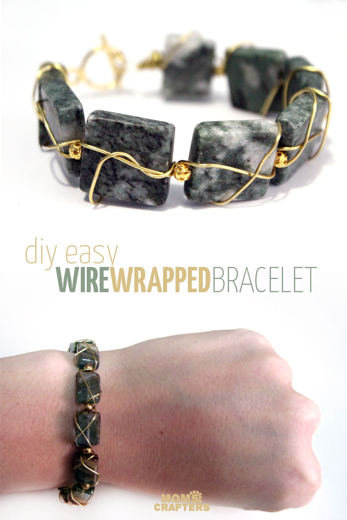 Wow Isn T This Diy Wire Wred Bracelet Beautiful It S Such A Great