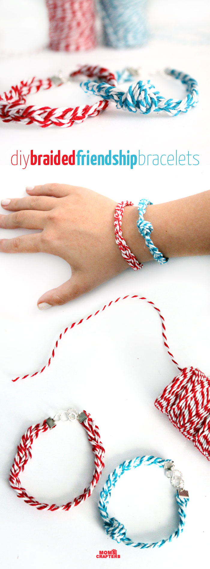 Make These Adorable Diy Braided Friendship Bracelet! A Quirky Jewelry Making  Craft To Learn Some