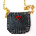 DIY Recycled Jeans Purse (No Sew)