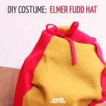 DIY Elmer Fudd Hunting Hat Costume Accessory