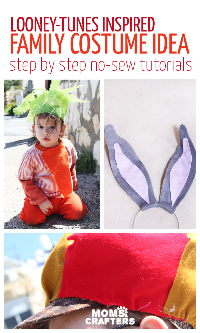 An adorable family costume idea - you'll love it! Includes DIY costume tutorials - no sew.