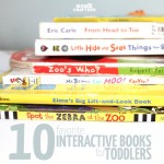 10 Favorite Interactive books for toddlers