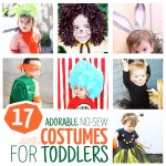 17 DIY No Sew Costumes for Toddlers