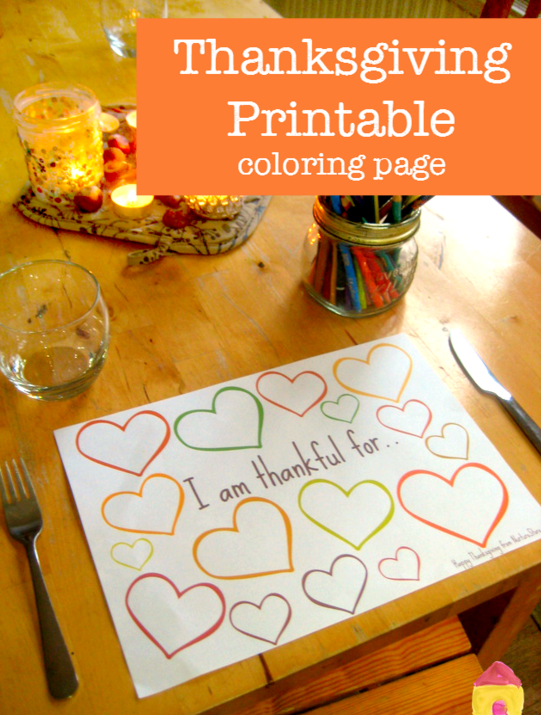 Thanksgiving Printables 1 Moms And Crafters