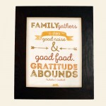 Free Printable Thanksgiving Wall Art