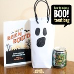 DIY Ghost Treat Bag + a free printable