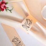 Free Printable Thanksgiving Napkin Rings – no gluing!