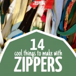 Who knew you could make such cool things with zippers? I love these zipper crafts, especially those easy DIY shoes - plus lots of DIY jewelry, accessories, and home projects!
