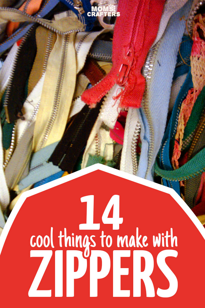 14 of the best zipper crafts moms and crafters for Cool things to buy for your house