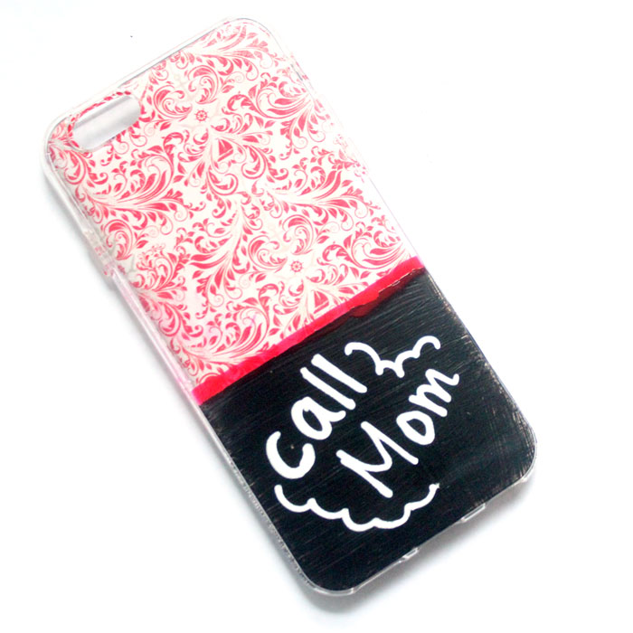 Make this adorable chalkboard cell phone case and personalize the message on it! I love this easy chalkboard craft for teens and tweens - want to make ten of them myself!