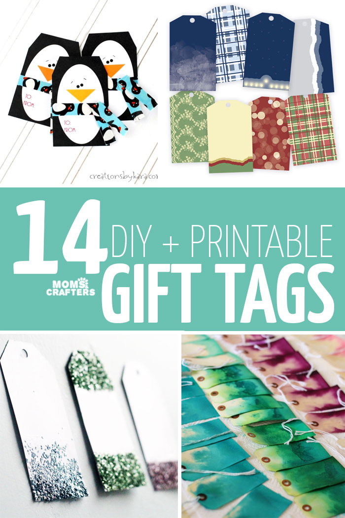 DIY and printable gift tags are a perfect way to add something personal to your holiday gifts! Whether you are celebrating Christmas or Hanukkah, these craft ideas are perfect for a holiday on a budget!