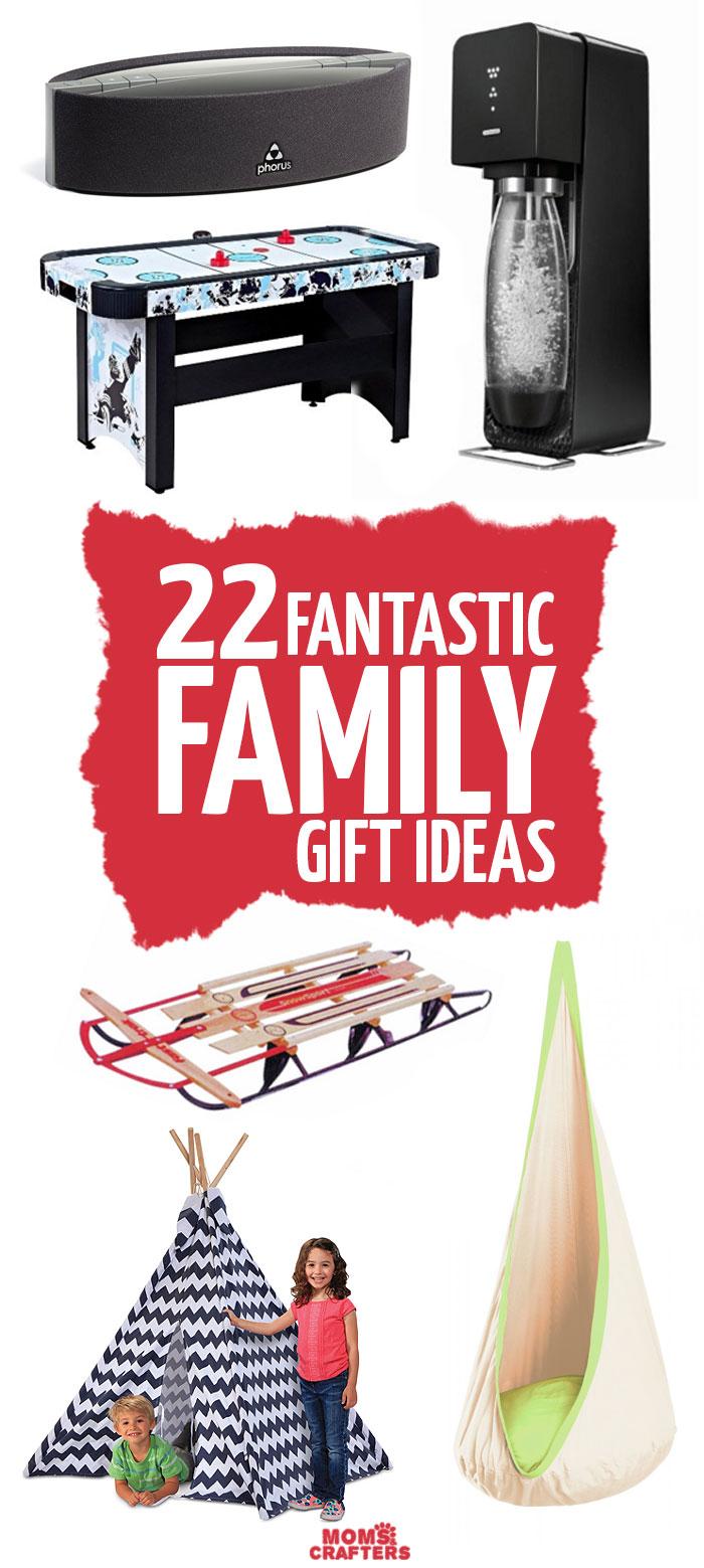 Family Gift Ideas V